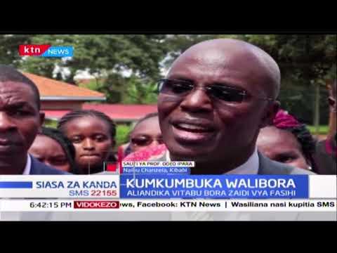 Kumkumbuka Ken Walibora (Sehemu Ya Pili) |Siasa za Kanda