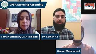 CPSA Morning Assembly Wednesday 3-3-2021