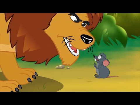 Лев и мышь & Златовласка и три медведя - сказка сборник | Сказки для детей | Мультик