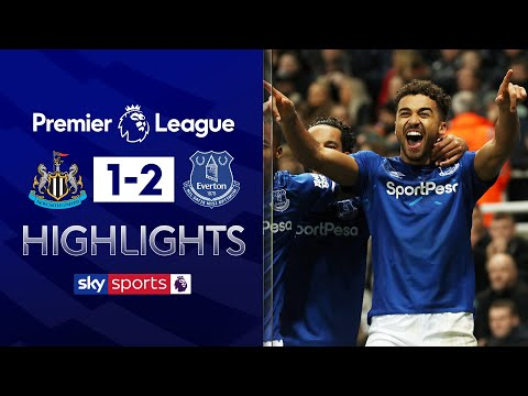 Calvert-Lewin double defeats Newcastle | Newcastle 1-2 Everton | Premier League Highlights
