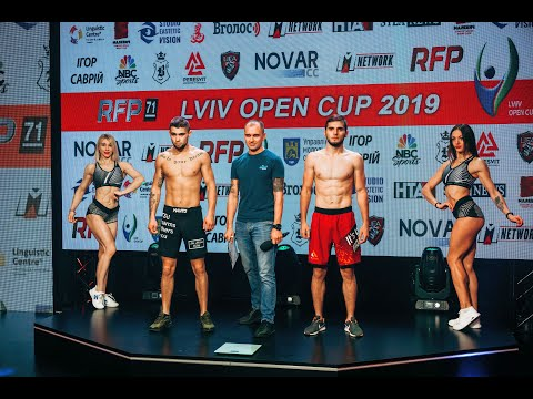 🔴LIVE  LVIV OPEN CUP-2019  MMA  RFP-71  Weighing ceremony