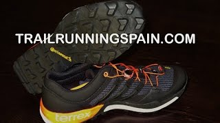 Adidas Terrex Boost review by Mayayo for Trailrunningspain.com