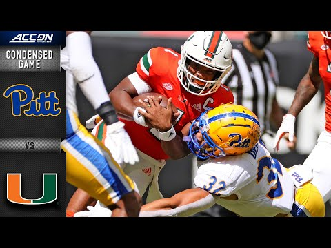 Pittsburgh vs. Miami Condensed Game | 2020 ACC Football