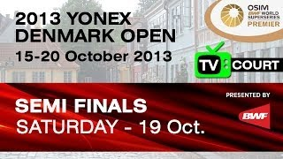 SF (TV Court) - MD - Lee Y.D. / Yoo Y.S. vs M.Boe / C.Mogensen - 2013 Yonex Denmark Open
