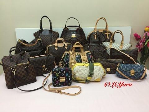 93af971ac693 My Louis Vuitton Handbag Collection 2016 - Лучшие приколы. Самое ...