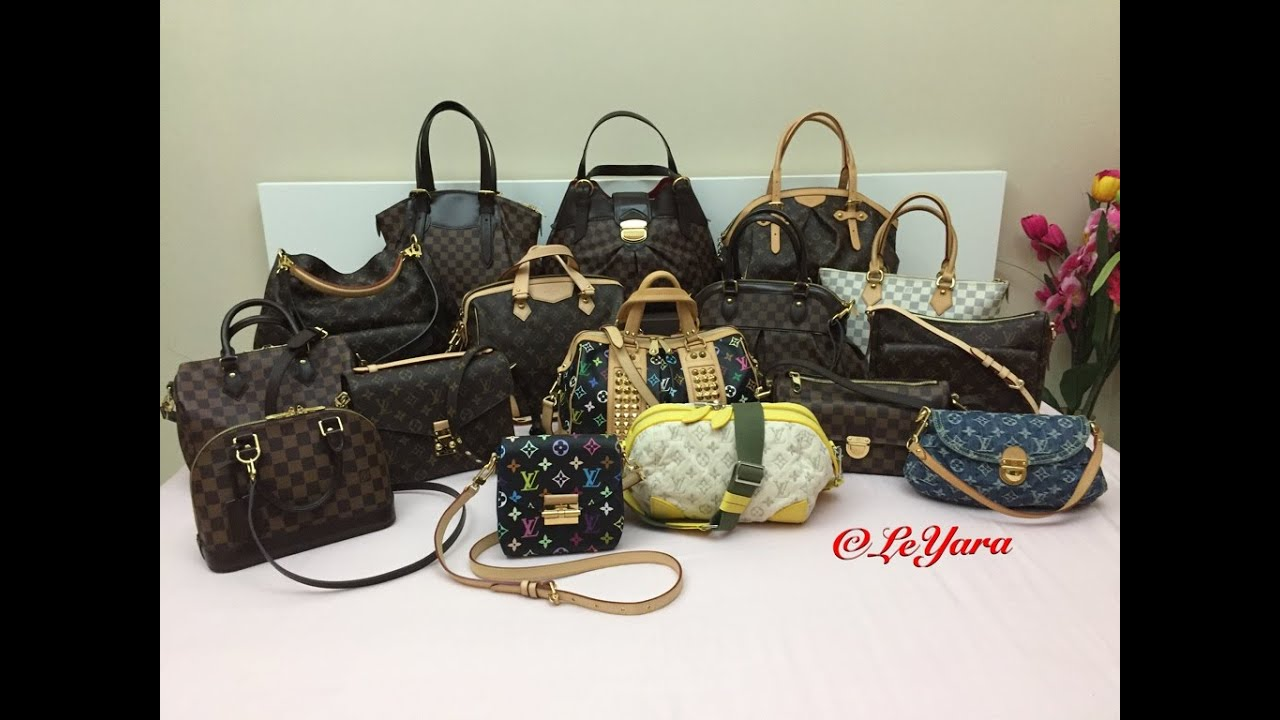 My Louis Vuitton Handbag Collection 2016