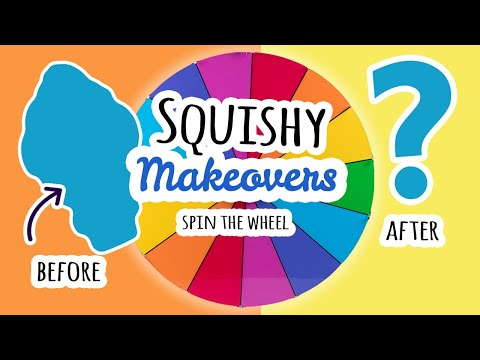 Squishy Makeovers: Spin The Wheel | Fixing Your Squishies #25