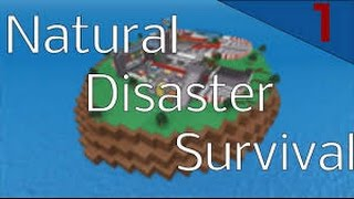 Can you survive?   Roblox Natural Disaster Survival