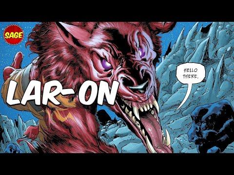 Who is DC Comics' Lar-On? Werewolf of Krypton! - Видео онлайн