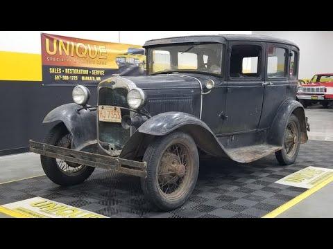 1931 Ford Model A Sedan | For Sale $5,900