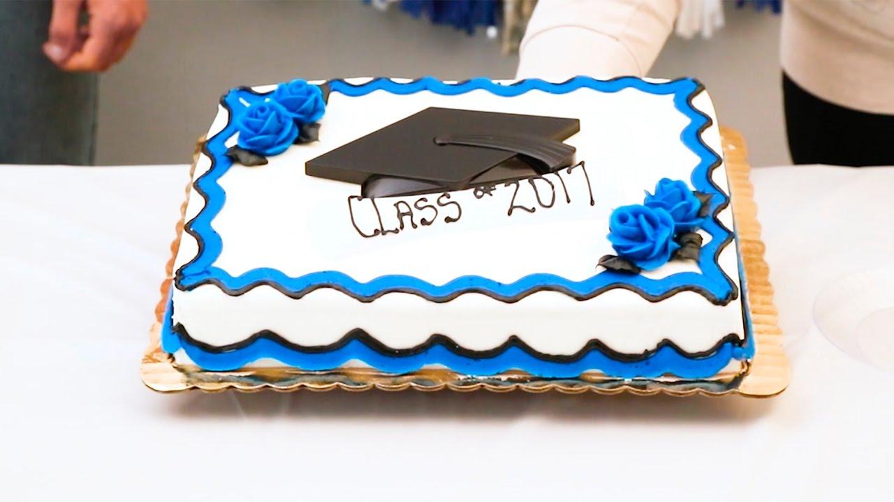 How To Make A Graduation Cake Youtube