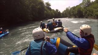 Rafting pavillon des sensations :  21 Juin 2014 Gave de Pau