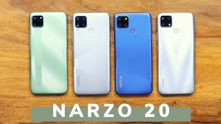 realme Narzo 20 Review with Pros and Cons !