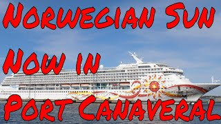 Cruise ship updates Norwegian Sun in Port Canaveral Silversea Silver Spirit put back together again!
