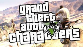 GTA V Gameplay: Michael, Franklin & Trevor In-Depth!
