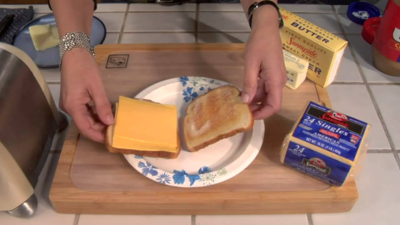 grilled cheese recipe using a microwave