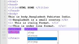 How to learn HTML Bangla Tutorial Part-01