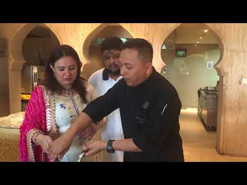 GASTRONOMICAL DELIGHTS - Laal Maas Recipe by Chef Deepak Gurung, HOTEL FAIRMONT, JAIPUR