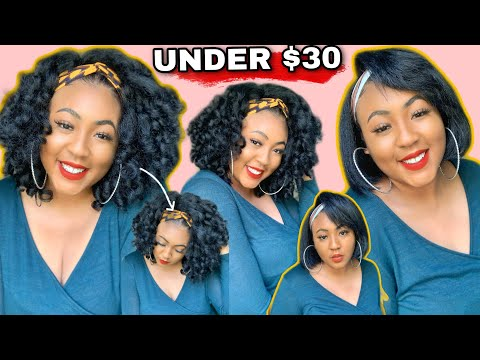 THE LOOK FOR CHEAP! Part 2! Amazon Headband Wig For Less | Affordable Headband Wig Haul Synthetic
