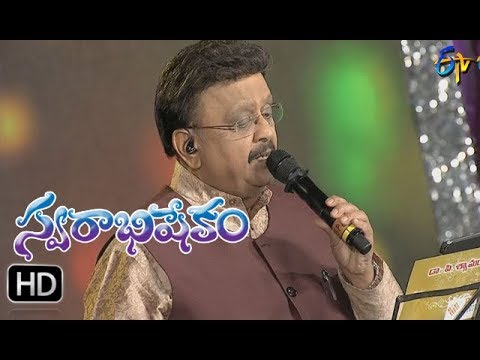 Sirimalle neeve Song |SP Balu Performance | Swarabhishekam | 29th October 2017 | ETV  Telugu