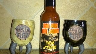 "Hellfire Hot Sauce ""sneak Attack!!!"" Review"