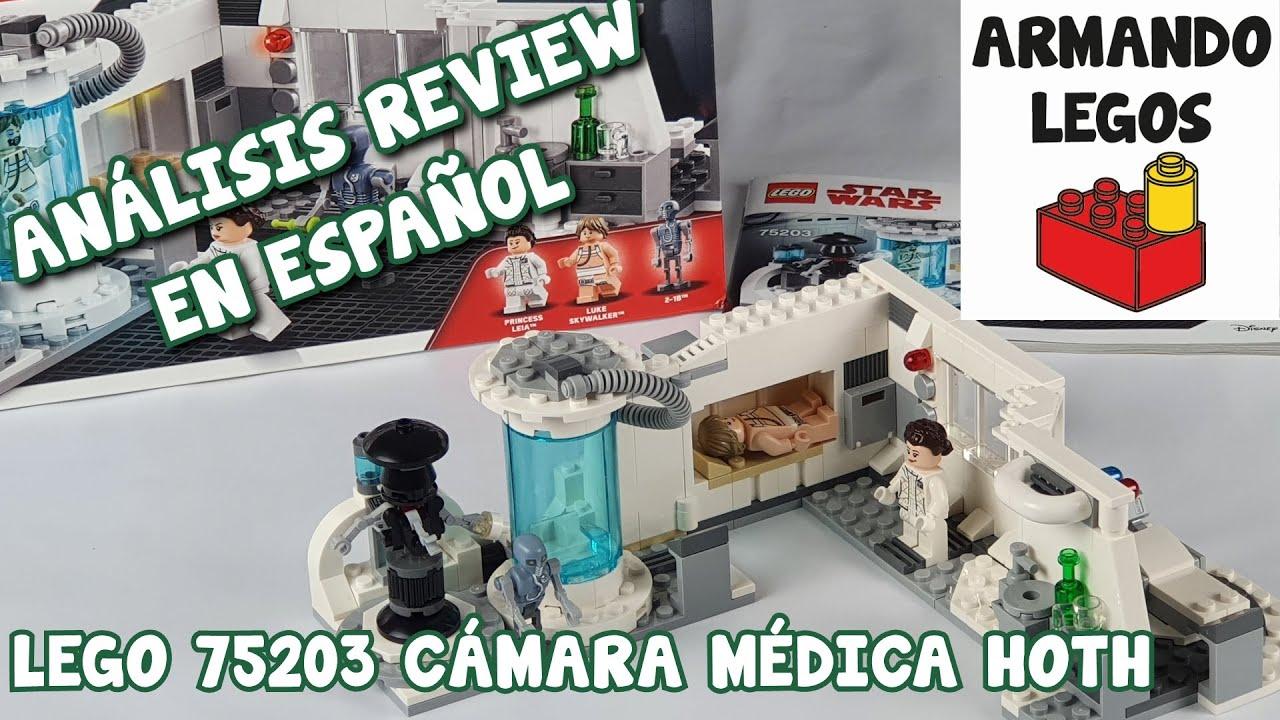Lego Cámara Médica Hoth Comentario en español 75203