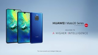 Huawei Mate 20 Pro Official Trailer