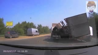 Опрокинулся   ДТП в Челябинске 17 07 2015