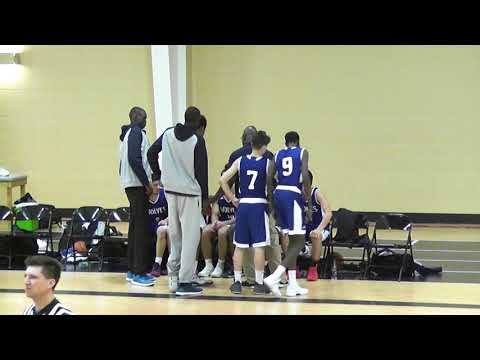 Sefa Otchere Basketball #12 in Blue