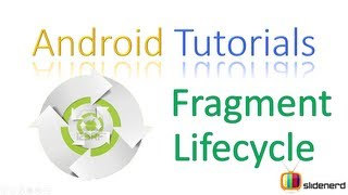 #2 Android Fragment Lifecycle Part 1: Android Application Development Tutorial [HD 1080p]