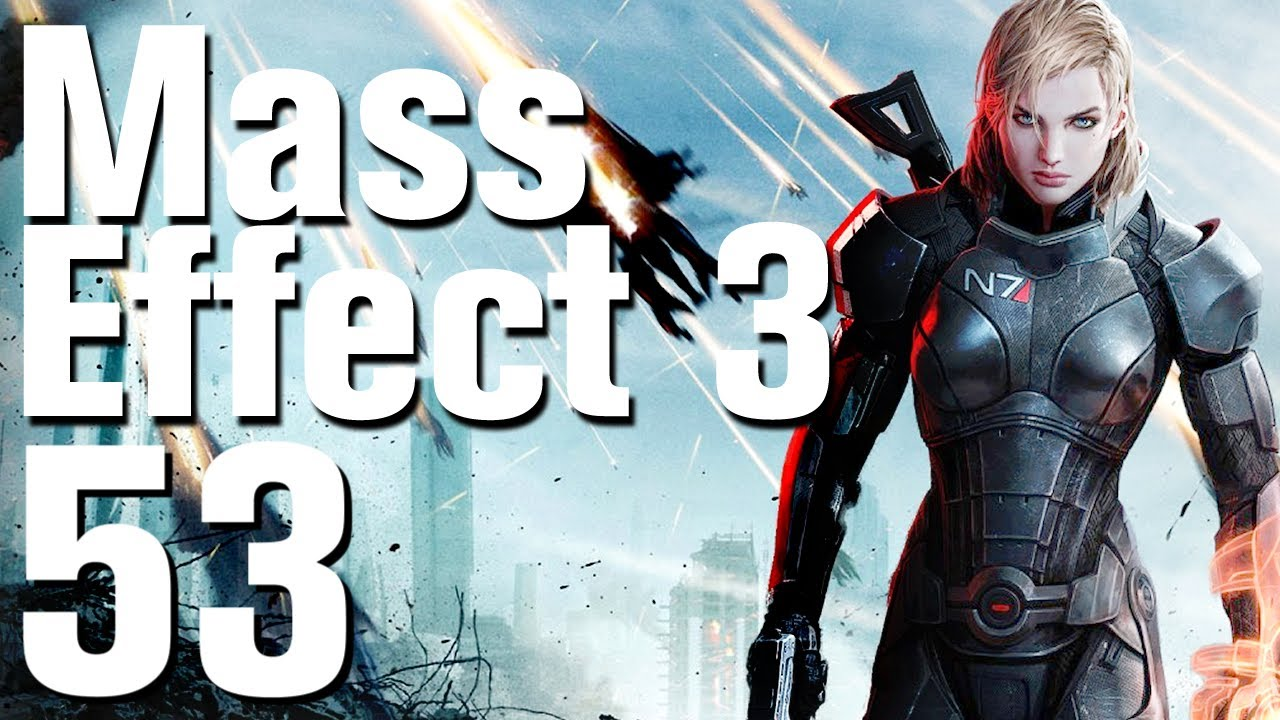 Mass Effect 3 Walkthrough Part 53 - Gellix - Rescue Cerberus
