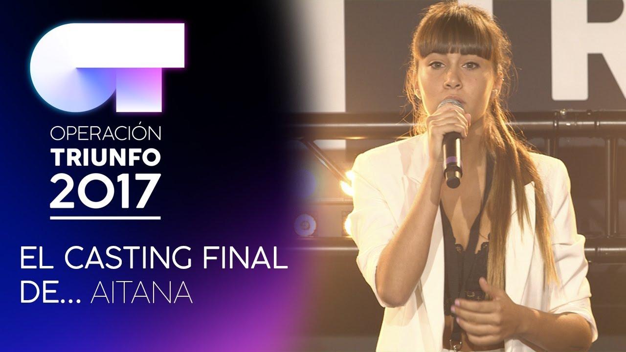 Quot Chandelier Quot Aitana Ot Casting Final Youtube
