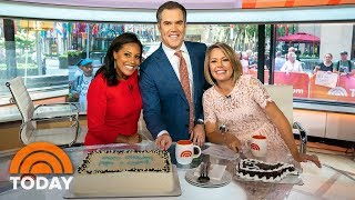 Peter Alexander And Dylan Dreyer Celebrate Their Birthdays On Weekend TODAY | TODAY