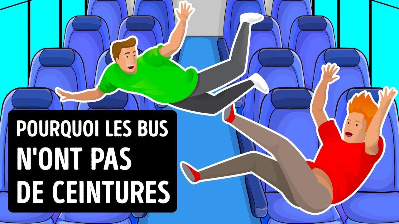 Pourquoi Les Bus N'ont Pas De Ceintures