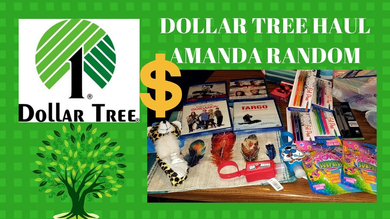 DOLLAR TREE HAUL - JANUARY 2018 - WISH LIST ITEMS - YouTube
