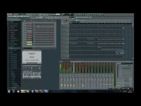 Voyager Music - FL Studio ( Yanni - The Rain Must Fall )