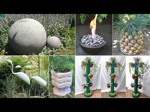 10 ideas crafts for the garden. Crafts for the garden and garden
