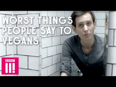 Worst Things People Say To Vegans | Chris Stokes' Life Lesson