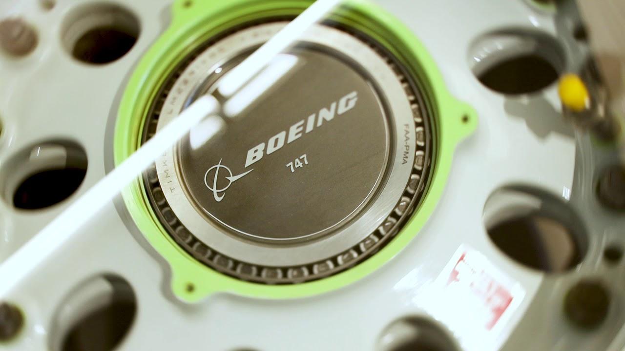 Boeing 747 // Main Wheel Coffee Table video thumbnail