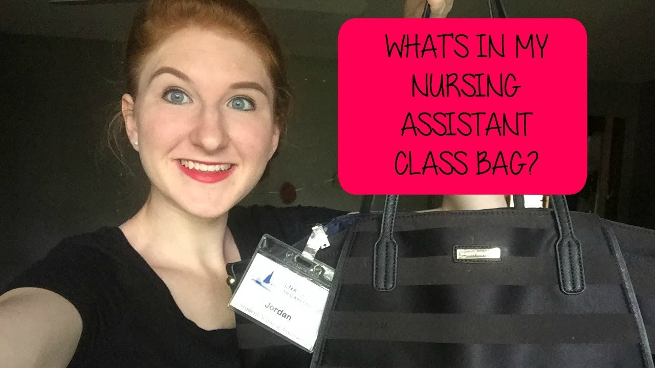 whats in my cna class bag