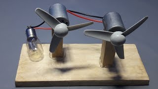 Free Energy Magnets Wind Turbine Generator _ Science Experiment