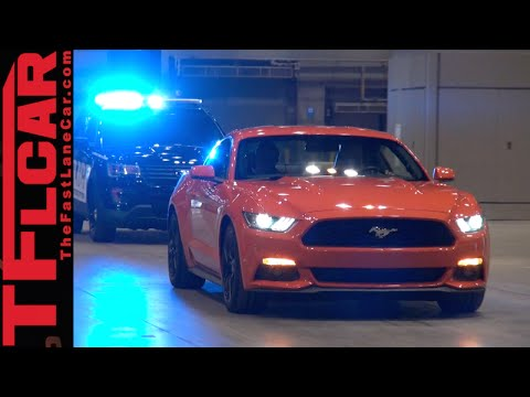 2016 ford interceptor utility police car debuts before the for Chicago motors used police cars