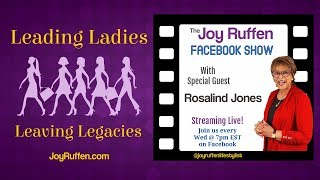 Joy Ruffen Interviews Rosalind Jones - Jacksonville's Best Caregivers