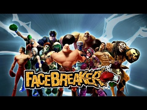 FaceBreaker - By EA -Punch-Out!! And Ready 2 Rumble Boxing - Xbox360 Classic (Super Quality)