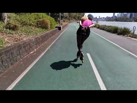 """""""Inline skating is a great fitness workout, but only if you do it properly"""". Fitness Skating"""