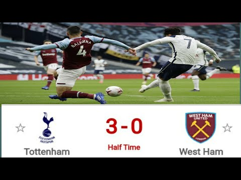 tottenham-hotspur-vs-west-ham-united,liga-inggris-highlights-half-time
