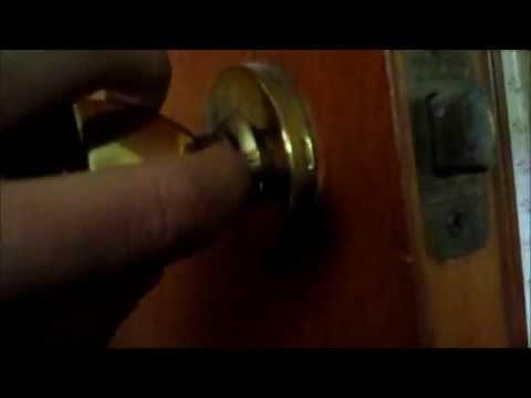 Beau How To Remove A Weslock Doorknob