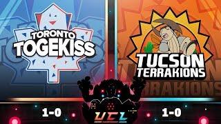 Pokémon USUM LIVE Wi-Fi Battle [UCL S3W2] Toronto Togekiss vs Tucson Terrakions
