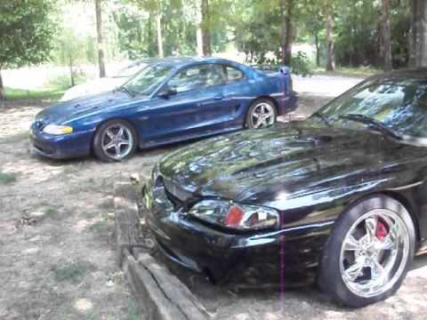 Magnaflow Cat Back Exhaust >> 97 Mustang Cobra SVT - YouTube