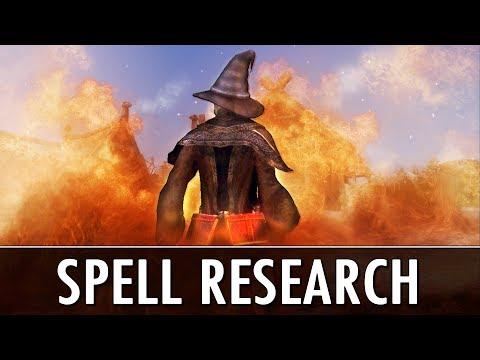 Skyrim Mod: Spell Research thumbnail